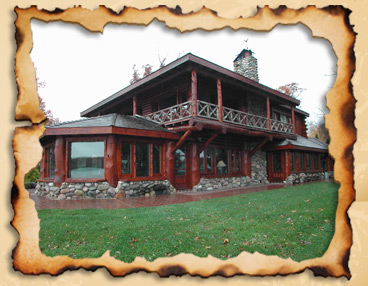 Custom Log Homes Restoration West Michigan Construction Log Home Art
